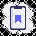 Mobile Favorite Bookmark Icon