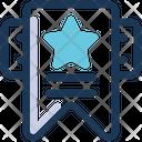 Bookmark Saved Star Icon