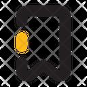 Bookmark Ribbon Label Icon