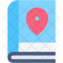 Bookmark Map Book Maps And Location Icon