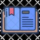 Bookmark Open Book Save Book Icon