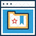 Bookmark Service Web Icon
