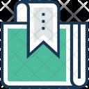 Bookmark Book Data Icon