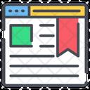 Bookmark Website Web Icon
