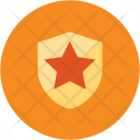 Bookmark Shield Safety Icon