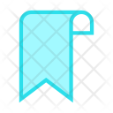 Bookmark Ribbon Tag Icon