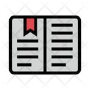 Bookmark Open Reading Icon