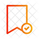 Bookmark Accept Icon
