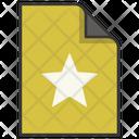 Bookmark Award File Icon