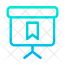 Bookmark Blackboard Icon