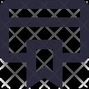 Bookmark card Icon