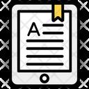 Bookmark Content Icon