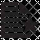 Bookmark Document Document File Icon