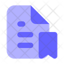 Bookmark-document Icon