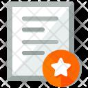 Bookmark Document Paper Icon
