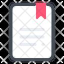 Bookmark File Document Icon