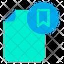 Bookmark Document File Icon