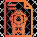 Award Bookmark File Badge File Icon