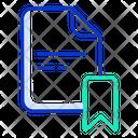 Bookmark Bookmark File Bookmar Document Icon