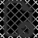 Bookmark Star File Icon