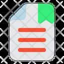 Bookmark File Bookmark File Icon
