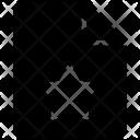 Bookmark File Star Icon