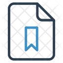 Bookmark File Sheet Icon