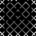 Bookmark flag Icon