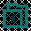 Bookmark File Folder Icon