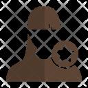 Star User Avatar Icon