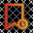 Bookmark history Icon