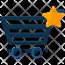 Bookmark Shopping Cart Icon