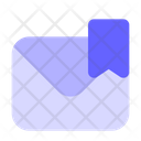 Bookmark Mail Save Mail Bookmark Icon