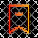 Bookmark Minus Icon