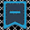 Bookmark Rduce Icon