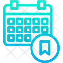 Bookmark Schedule Icon