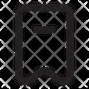 Bookmark Subtract Bookmark Favorite Icon