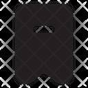 Bookmark Subtract Icon