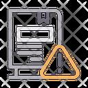 Bookmark Warning Icon