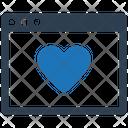 Bookmark Favourite Webpage Icon