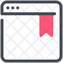 Bookmark Webpage Web Icon