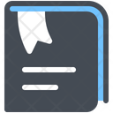 Bookmarked Document Bookmark Icon