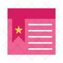 Bookmarked Page Wisdom Icon