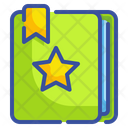 Bookmarks Notebook Agenda Icon