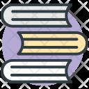 Books Record Stack Icon