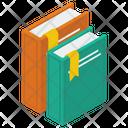 Books Textbook Bookmark Icon