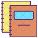 Books Notebook Diary Icon