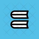 Books Stack Files Icon