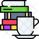 Books And Coffee Icon