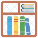Bookshelf Books Almirah Icon